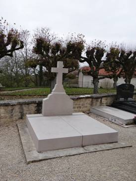 La tumba de Charles de Gaulle.
