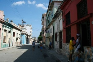La calle Soledad de Centro Habana. 2012.