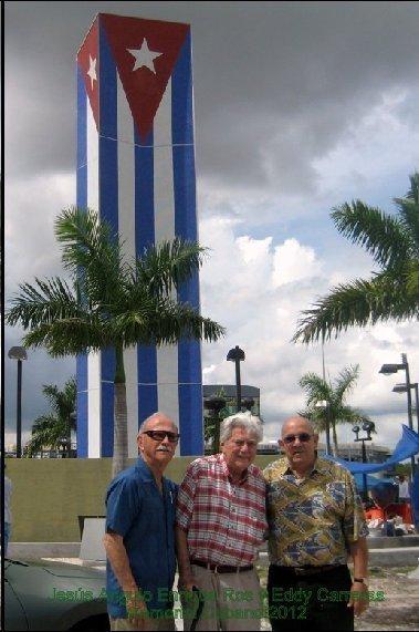Jesús Angulo,Enrique Ros y Eddy Carreras