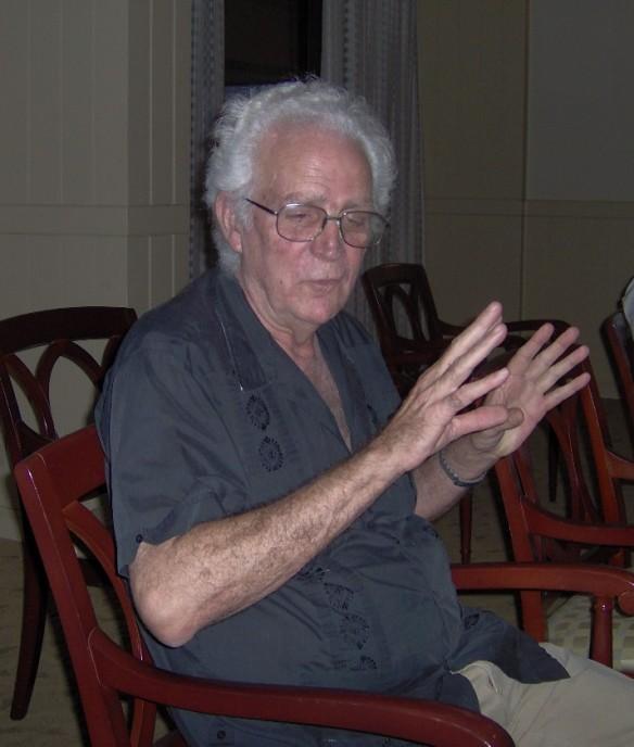 Siro del Castillo. Foto: Carlos M. Estefanía