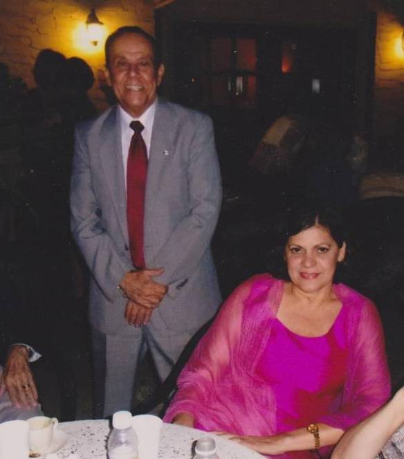 Sergio Galán Pino y Marta Hernández. Café Demetrio, Miami, octubre de 2012.