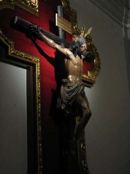 El Cristo de la Catedral de San Isidro. Madrid.