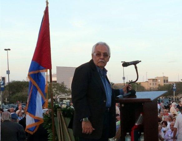 El presidente del Memorial Cubano, Inc. Francisco (Frank) García - Kopia