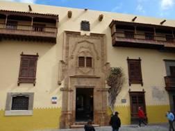 La Casa de Colón, Las Palmas de Gran Canaria, 2014.