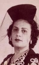 Mi madre, Ofelia Valdés Ríos, Camajuaní, Cuba, 1940.