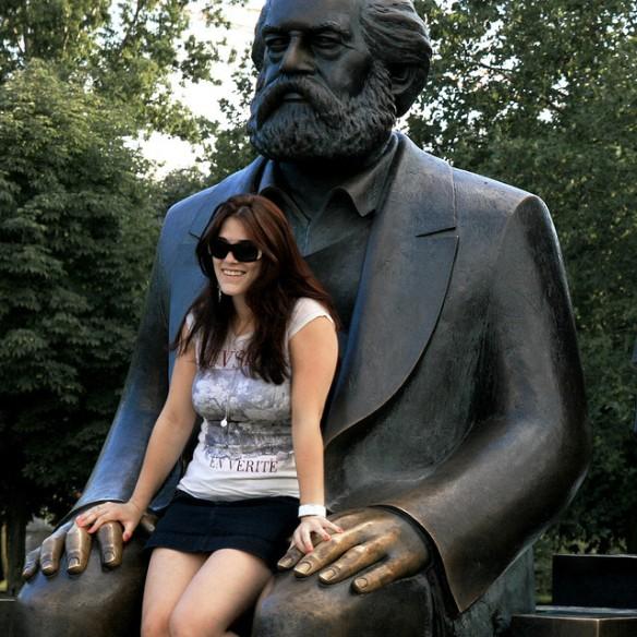 Marx turístico. Foto: Baptiste Pons