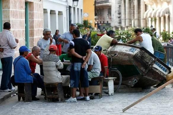 Foto tomada en La Habana Vieja en 2014.