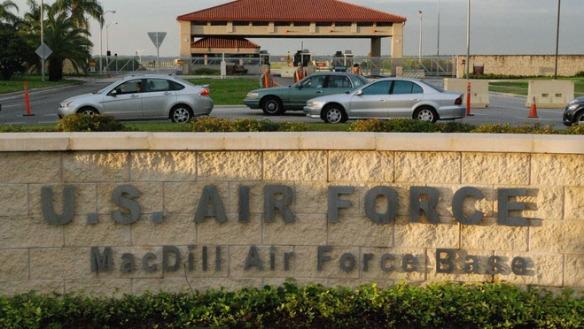 Comando central de la base militar aérea MacDill.